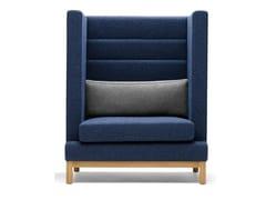 - Upholstered high-back armchair ARTHUR | High-back armchair - Boss Design