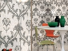 - Marble mosaic ARTISTIC CONTEMPORARY - DAMASCO PIXEL - Lithos Mosaico Italia - Lithos