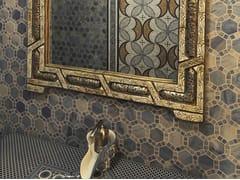 - Marble mosaic ARTISTIC CONTEMPORARY - ESAGONO ESAGONO - Lithos Mosaico Italia - Lithos