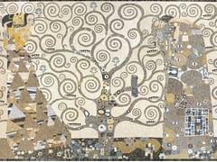 - Marble mosaic ARTISTIC CONTEMPORARY - OMAGGIO A KLIMT - Lithos Mosaico Italia - Lithos