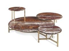 Tavolino rotondo in marmoASCOTT - GIANFRANCO FERRÉ HOME