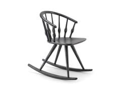 - Rocking beech chair ASTON | Rocking chair - CIZETA