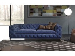 - Tufted leather sofa ASTON | Tufted sofa - ITALY DREAM DESIGN - Kallisté