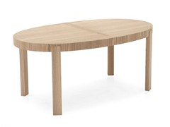 - Extending oval table ATELIER | Oval table - Calligaris