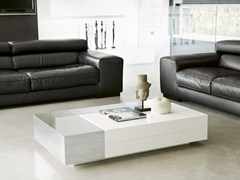 - Low rectangular coffee table ATOLLO | Coffee table with storage space - Pacini & Cappellini