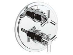 - Thermostatic shower mixer with plate ATRIO CLASSIC YPSILON | 2 hole thermostatic shower mixer - Grohe