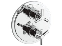 - 2 hole thermostatic shower / bathub mixer with plate ATRIO CLASSIC YPSILON | Thermostatic shower mixer - Grohe