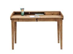 Scrittoio in legno massello con cassettiATTENTO - KARE-DESIGN