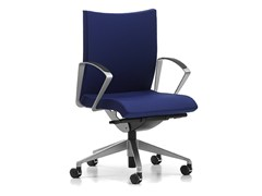 - Fabric task chair with 5-Spoke base with armrests with casters AVIAMID 3504 - TALIN
