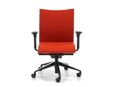 - Fabric task chair with 5-Spoke base with armrests with casters AVIAMID 3516 - TALIN