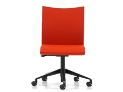 - Fabric task chair with 5-Spoke base with casters AVIAMID 3540 - TALIN