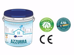 Idropittura acrilica superlavabile traspiranteAZZURRA - MALVIN