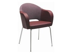 - Upholstered easy chair with armrests Agatha 047 - Metalmobil