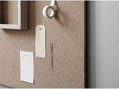 - Wall-mounted office whiteboard Air Cork - Lintex