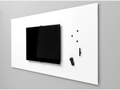 - Magnetic wall-mounted office whiteboard Air TV - Lintex