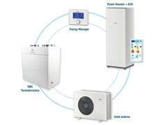 Sistema integrato per riscaldamento,raffrescamento,VMC,ACSAir4ONE - MYDATEC BY TELEMA