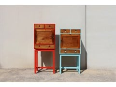 - Lacquered wooden highboard ARTHUR & ZOÉ - ICI ET LÀ