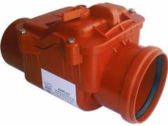Componente per impianto di trattamento dei rifiuti liquidiVALVOLA ANTIRIFLUSSO - BAMPI