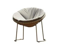 - Poltroncina da giardino imbottita LUNA 23293 - SKYLINE design