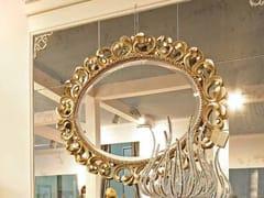 - Specchio a parete con cornice BAROQUE | Specchio ovale - Arvestyle