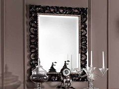 - Wall-mounted framed mirror BAROQUE | Rectangular mirror - Arvestyle