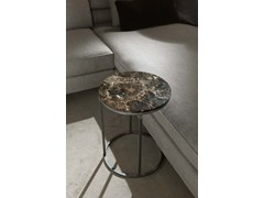 - Round marble side table BARRY | Round coffee table - FRIGERIO POLTRONE E DIVANI