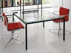 - Multiple glass office workstation for open space BARTOLO | Glass office workstation - Quinti Sedute