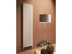 - Vertical wall-mounted decorative radiator BASICS 25 | Vertical decorative radiator - Tubes Radiatori