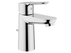 - Countertop single handle washbasin mixer BAUEDGE | Washbasin mixer with pop up waste - Grohe