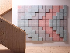 Pannelli decorativi acustici tridimensionaliBAUX 3D PIXEL - BAUX