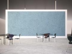 Pannelli decorativi acustici in cemento-legnoBAUX ACOUSTIC PANEL CHECK - BAUX