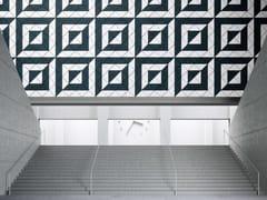 Pannelli decorativi acustici in cemento-legnoBAUX ACOUSTIC TILES  TRIANGLE - BAUX