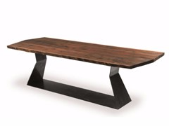 - Wooden table BEDROCK PLANK A - Riva 1920