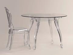 - Tavolo rotondo in policarbonato BELLE ÉPOQUE | Tavolo rotondo - Dal Segno Design