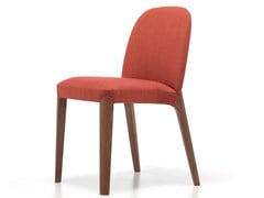 - Contemporary style upholstered stackable wooden restaurant chair BELLEVUE 51 | Chair - Very Wood