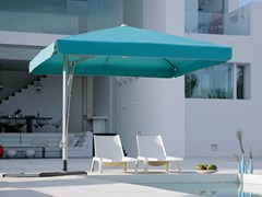- Offset square acrylic fabric Garden umbrella BELVEDERE | Square Garden umbrella - Michael Caravita