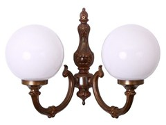 - Direct light handmade wall lamp BEN 2 ARM TRADITIONAL WALL LIGHT - Mullan Lighting