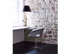 - Swivel reception chair BENNET | Swivel chair - La Cividina