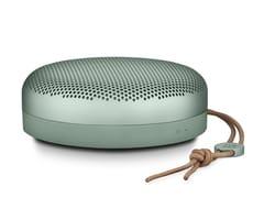 Diffusore acustico Bluetooth in alluminioBEOPLAY A1 - BANG & OLUFSEN ITALIA