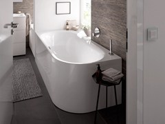 - Enamelled steel bathtub BETTELUX OVAL IV SILHOUETTE - Bette