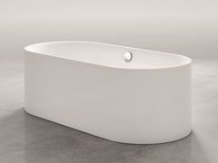 - Freestanding oval bathtub BETTELUX OVAL SILHOUETTE - Bette