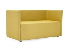 - Upholstered 2 seater fabric sofa BETTIE | 2 seater sofa - Domingo Salotti