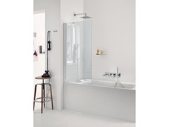 - Glass bathtub wall panel BFL02 | Bathtub wall panel - INDA®