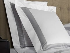 - Cotton pillow case BICOLORE | Cotton pillow case - Frette