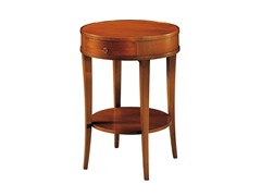 - Round wooden coffee table BIEDERMEIER | Round coffee table - Morelato