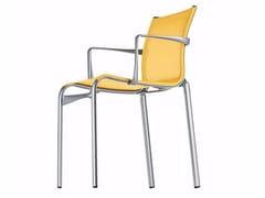 - Sedia impilabile in rete con braccioli BIGFRAME - 440_O - Alias