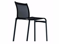 - Stackable mesh chair BIGFRAME LOW - 412 - Alias