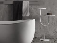 - Metal side table BIVIO | Coffee table - INBANI