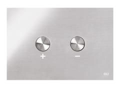 Placca di comando per wc in acciaio inoxBLINK - OLI