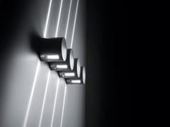 Applique per esterno a LED a luce diretta e indiretta in alluminio pressofusoBLITZ - SIMES